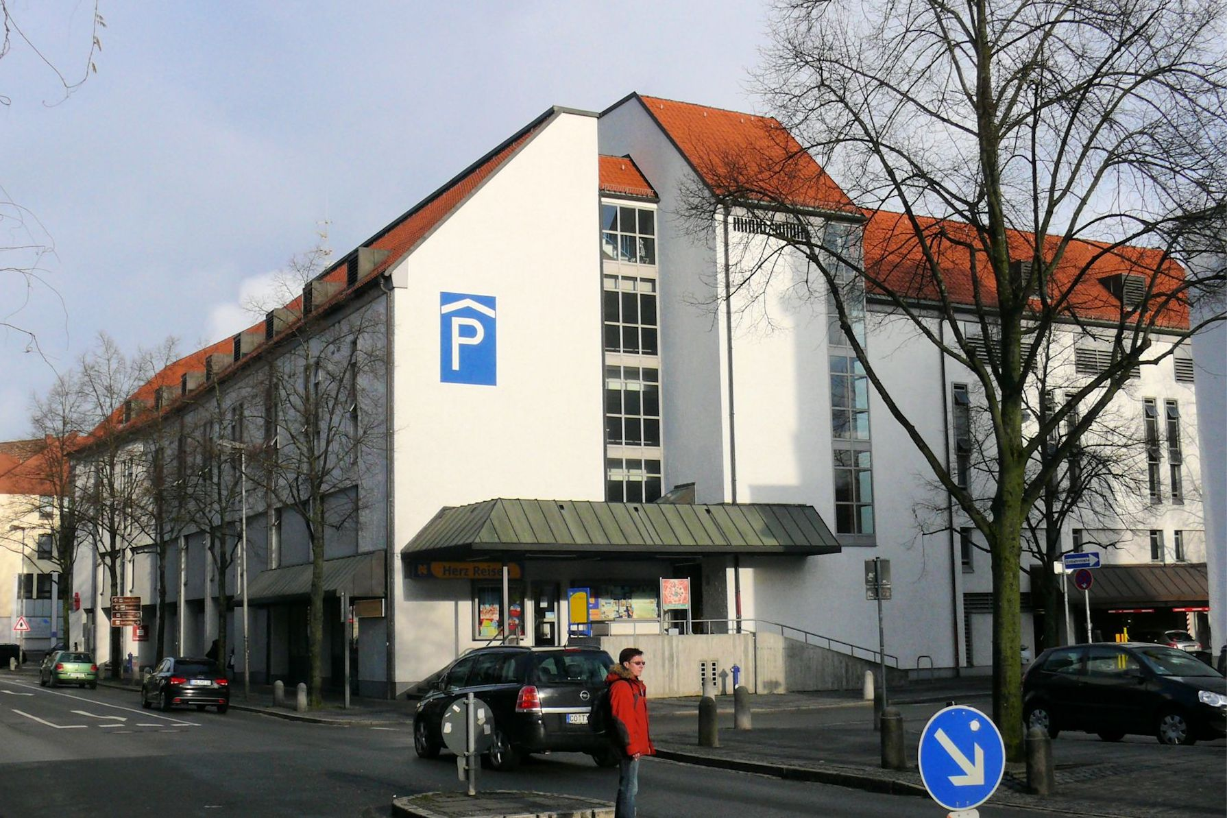 Parkhaus Post