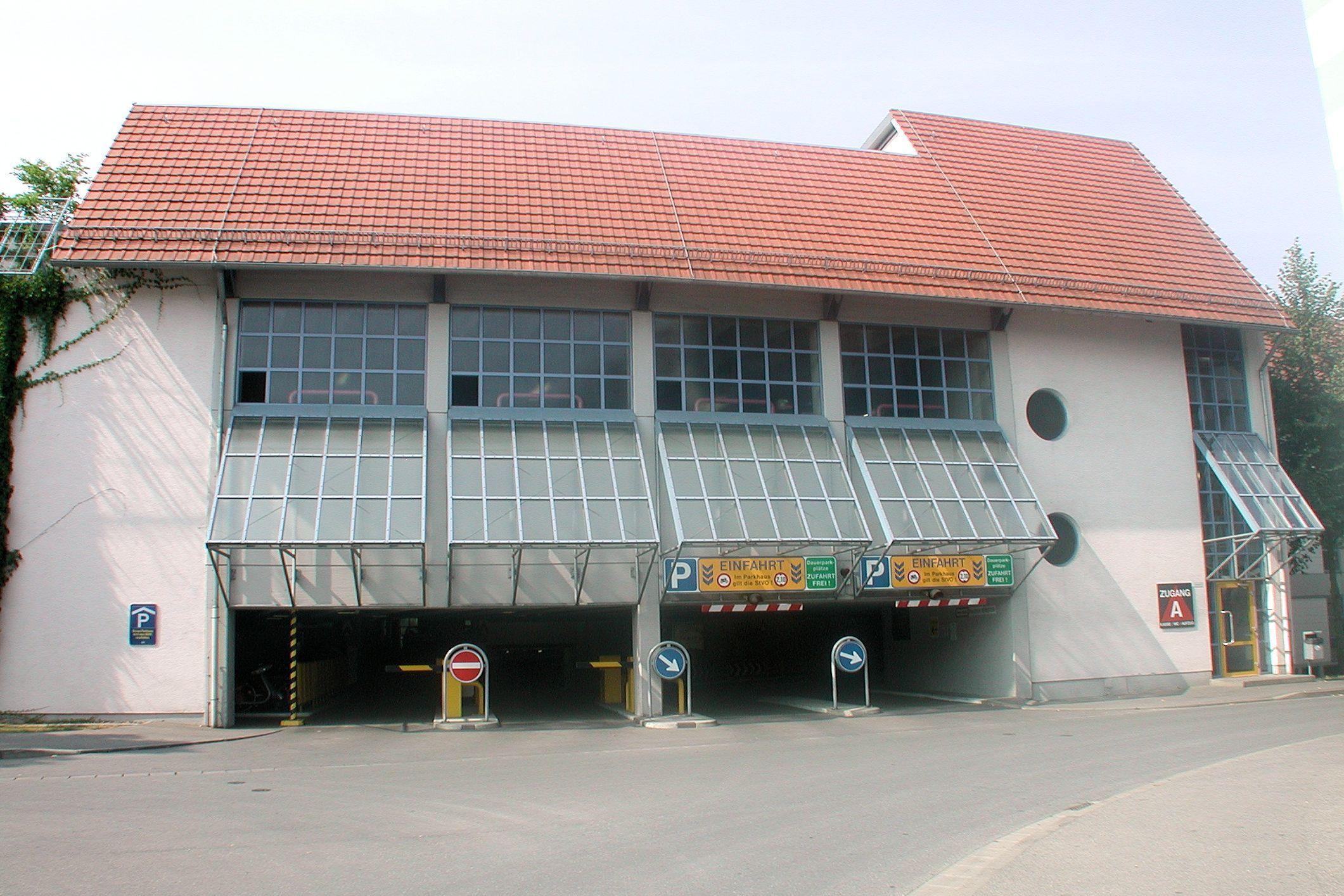 Parkhaus Zinkenwehr