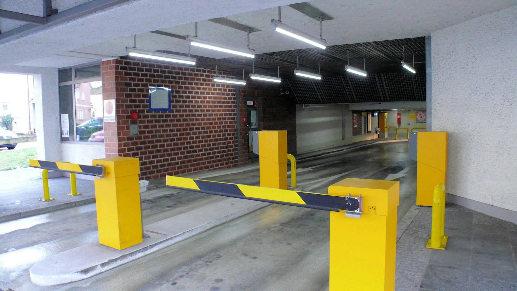 Ausfahrt Parkhaus Post