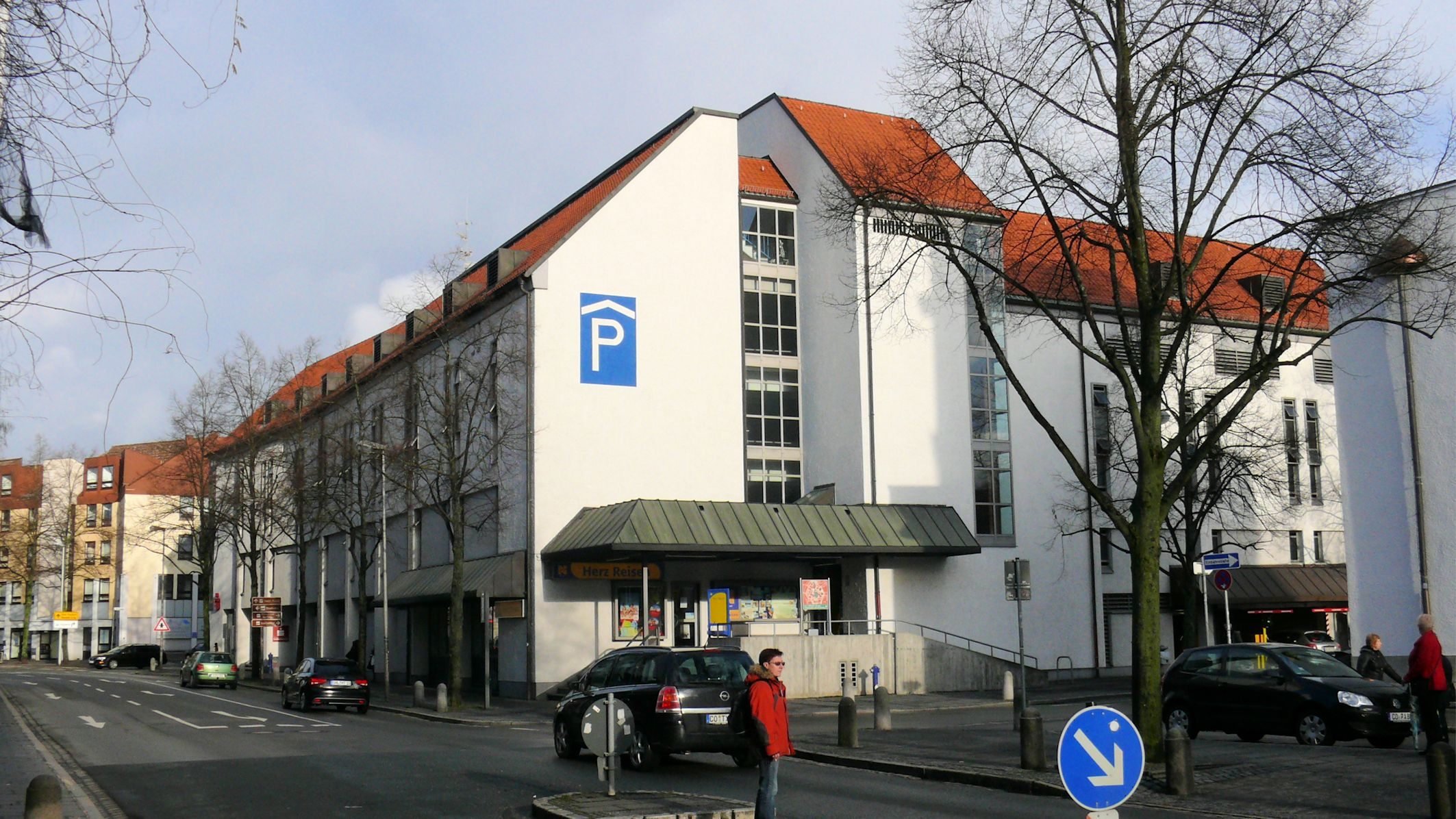 Parkhaus Post