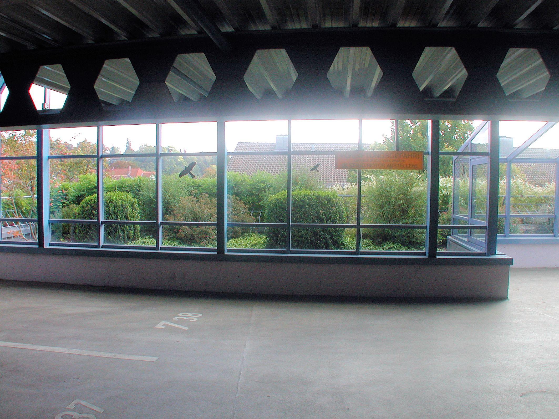 Parkhaus Zinkenwehr Grünanlage