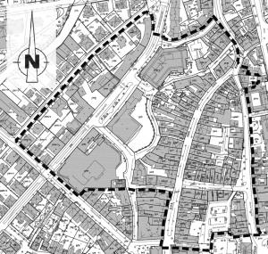 Steinwegvorstadt als Sanierungsgebiet