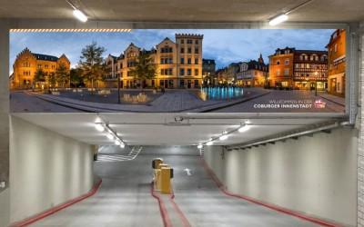 Willkommen in der Innenstadt – Tiefgarage Albertsplatz eröffnet