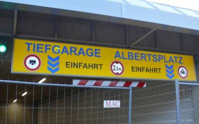 11/12/2015 → Große Neueröffnung Tiefgarage Albertsplatz