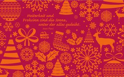 19.12.2016 → Fröhliche Weihnachten