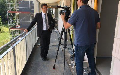 19.07.2018 → Sozialer Wohnungsbau in Coburg | Beitrag in der Frankenschau
