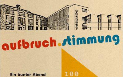 31.01.2019 →  Vortrag & Konzert: 100 Jahre Bauhaus