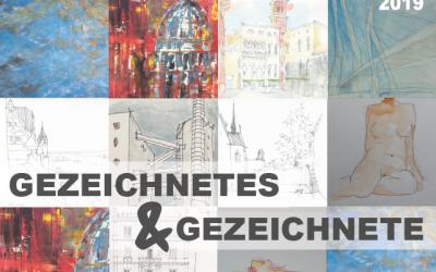 """05.-21.12.2019 → Ausstellung """"gezeichnetes und gezeichnete"""" im Steinweg"""