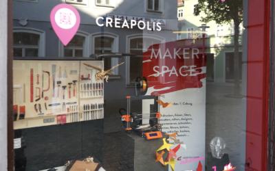 31.08.2020 → CREAPOLIS im Steinweg-Leerstand