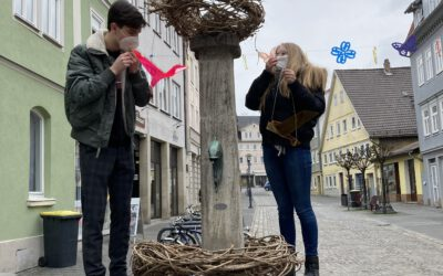 30.03.2021 → WSCO-Azubis schmücken Bürglaßbrunnen