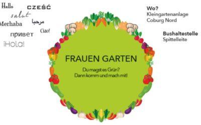 16.04.2021 →  Frauengarten wieder geöffnet