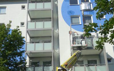 13.08.2021 → Balkone für den Lauersgraben