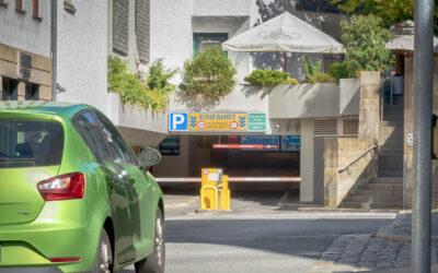 25.08.2021 → Parkhaus Mauer ab Montag wieder geöffnet